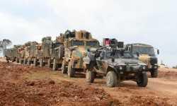 الجيش التركي يدفع بتعزيزات عسكرية نحو الحدود السورية