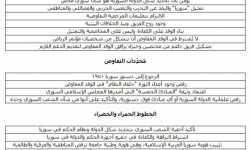 الخطوط الحمراء ومحددات التفاوض - الثورة السورية ومؤتمر الرياض وما بعد الرياض