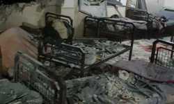 خروج مشفى الأمراض العقلية في إعزاز عن الخدمة جراء استهدافه من قبل ميلشيا YPG