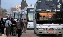 إعلام النظام: وصول حافلات لإخلاء الثوار من ريف دمشق الغربي