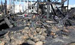 مجزرة غزة البقاعية: هكذا قتلت النيران 8 أطفال سوريين