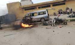 جرحى جراء انفجار دراجة مفخخة في بلدة قباسين شرقي حلب