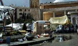 الحرب تحول تجار حلب إلى باعة متجولين