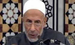 رفضًا لقمع المصلين.. شيخ قراء الشام يعلن استقالته فوق المنبر