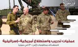 عمليات تدريب واستطلاع أمريكية-إسرائيلية لاستهداف منظومات (إس-300) في سوريا