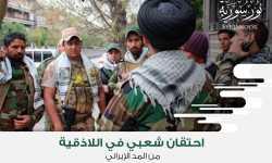احتقان شعبي في اللاذقية من المد الإيراني