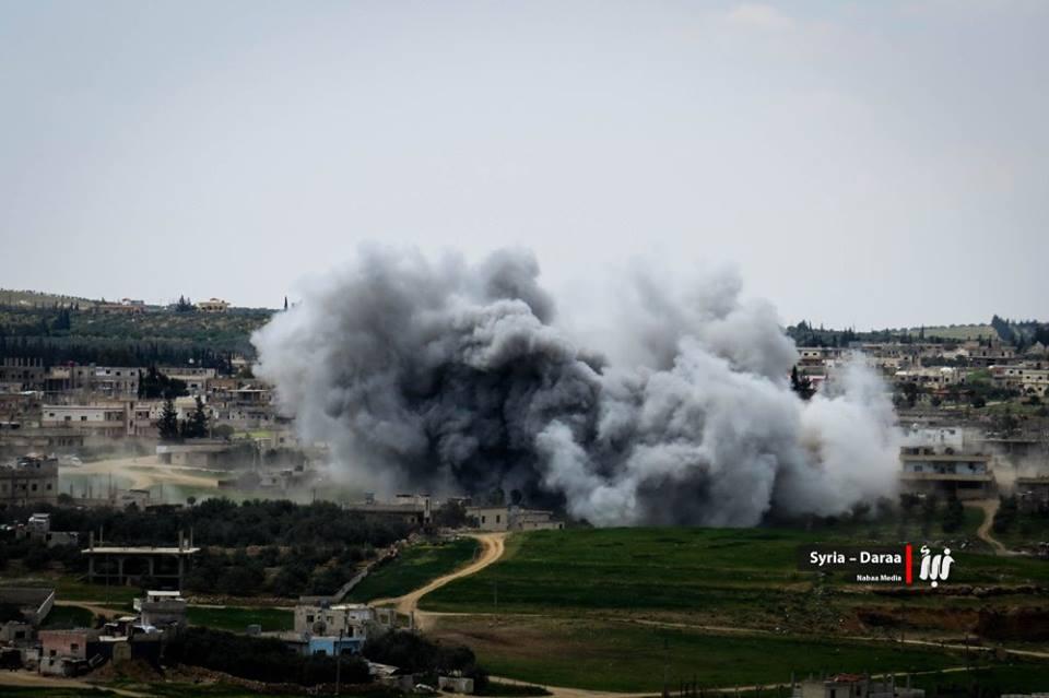 نشرة أخبار سوريا- طيران النظام يرتكب مجزرة بحق المدنيين في بلدة طفس بريف درعا، وبريطانيا تدين انتهاكات حقوق الإنسان في سوريا -(14-6-2017)