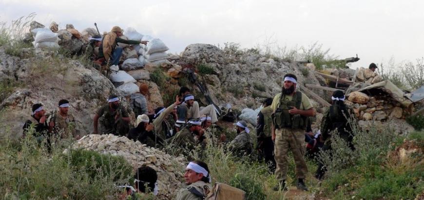 نشرة أخبار سوريا- تحرير 4 نقاط عسكرية في تلة الخربة الاستراتيجية المطلّة على قريتي الفوعة وكفريا بريف إدلب، ومقتل أكثر من 20 عنصراً من تنظيم الدولة في مارع بحلب -(3/4_9_2015)