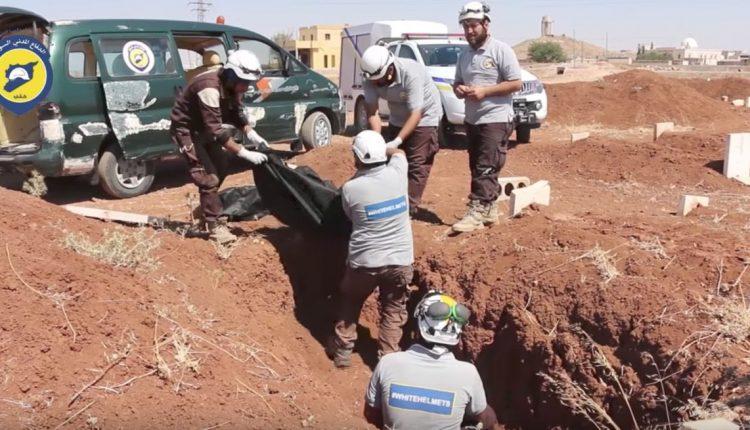 العثور على مقبرة جماعية جديدة قرب مارع بريف حلب الشمالي