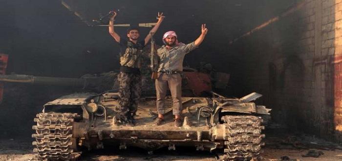 تحرير بلدة رميلة بريف حماة الجنوبي، وعملية واسعة ضد تنظيم الدولة في القلمون