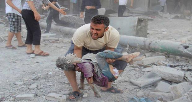 بريطانيا تدين انتهاكات حقوق الإنسان بحق المدنيين في سوريا