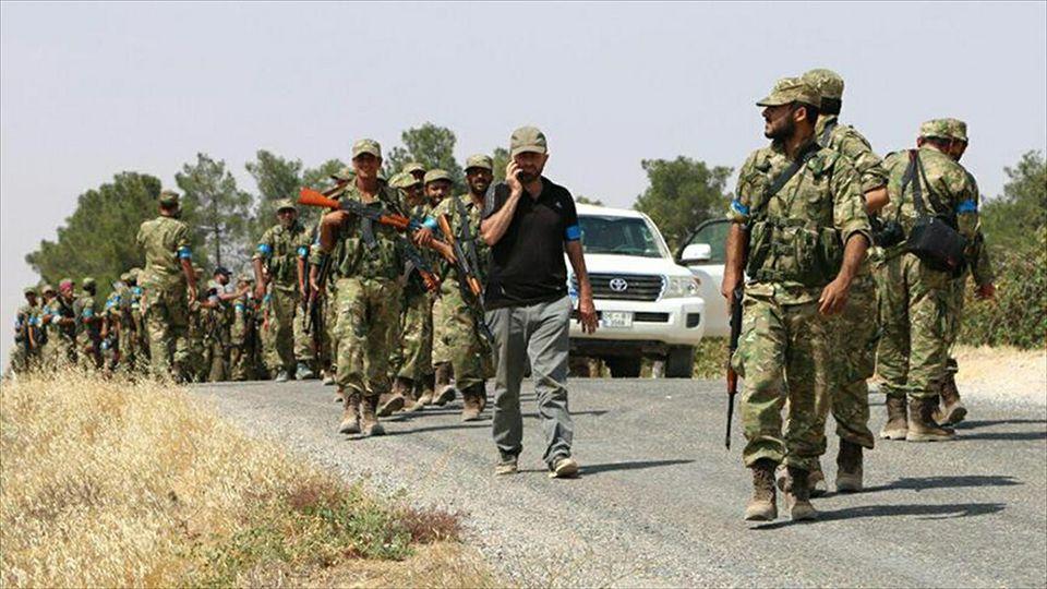فصائل عسكرية تحظر المظاهر العسكرية داخل مدينة جرابلس شمال سورية