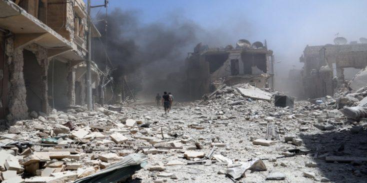 خلال شهر واحد.. 238 مدنياً من أهالي الرقة قُتلوا على يد التحالف وقسد