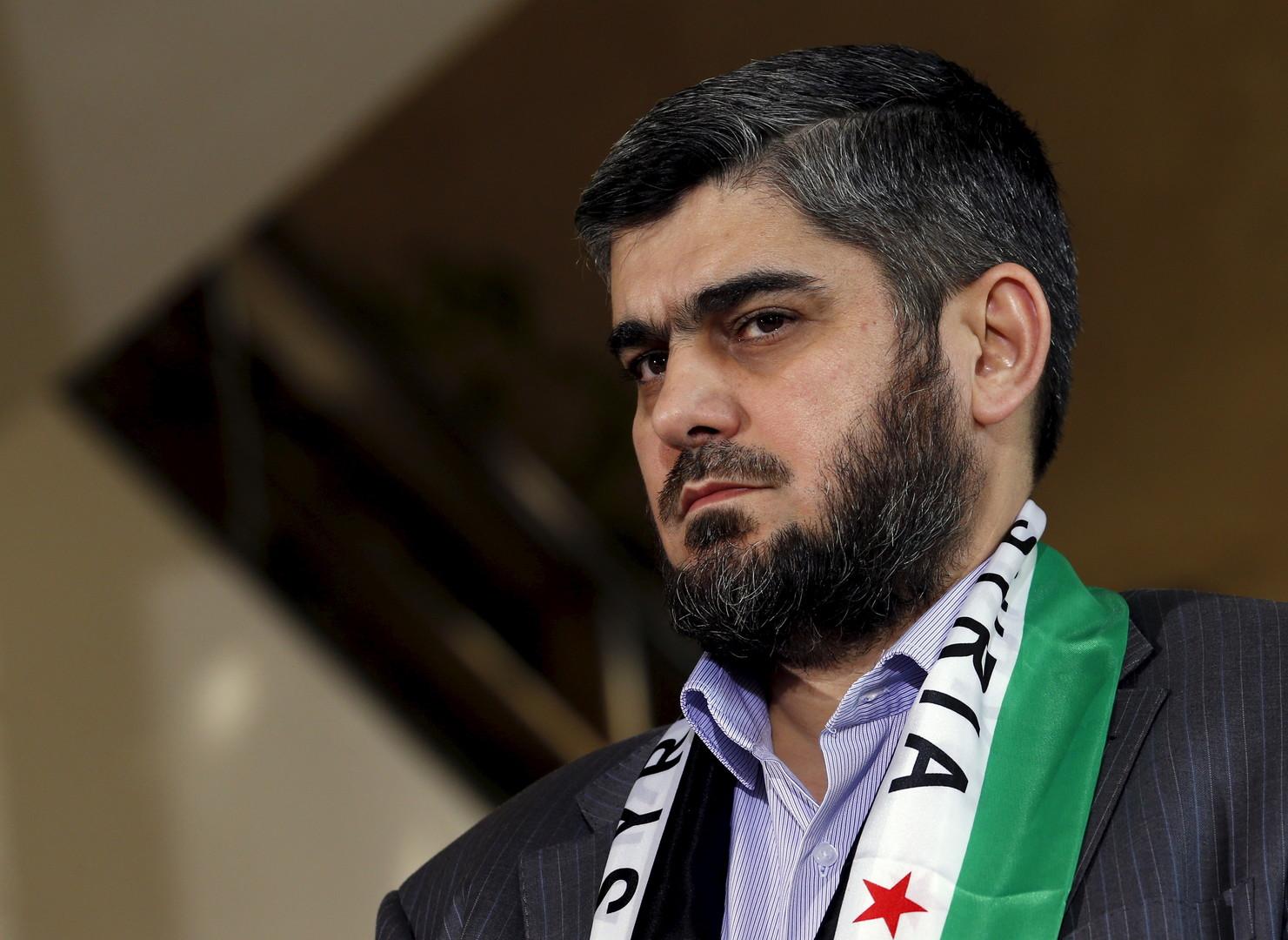 اختيار محمد علوش رئيساً لوفد المعارضة في مفاوضات أستانا