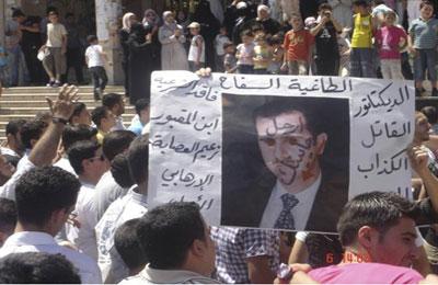 عندما يُعلن النظام الإيراني نهاية النظام السوري!