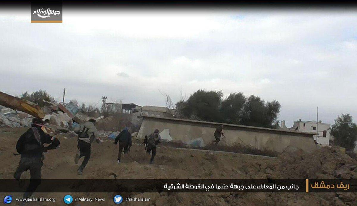 خسائر فادحة للنظام على جبهات الغوطة الشرقية: تدمير 6 دبابات وعشرات القتلى خلال أيام