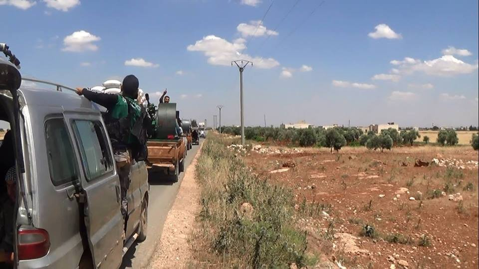 نشرة أخبار سوريا- جيش الفتح يواصل إرسال تعزيزات عسكرية لمعركة الفوعة وكفريا، وإخوان سوريا يعلنون رفض خطة ديمستورا -(6_9_2015)
