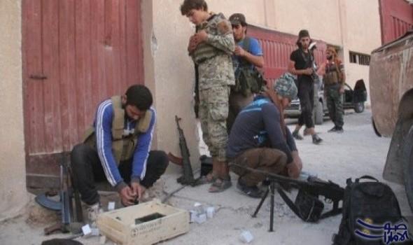 الدفعة الأولى من مقاتلي مخيم اليرموك تغادر باتجاه إدلب