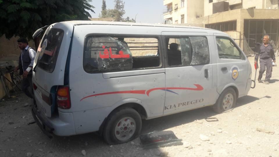 قوات النظام تصعد قصفها على الغوطة الشرقية وحي جوبر