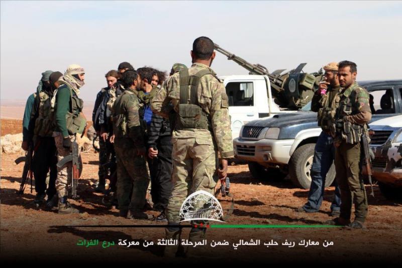 25 قتيلاً من تنظيم الدولة في اشتباكات مع فصائل