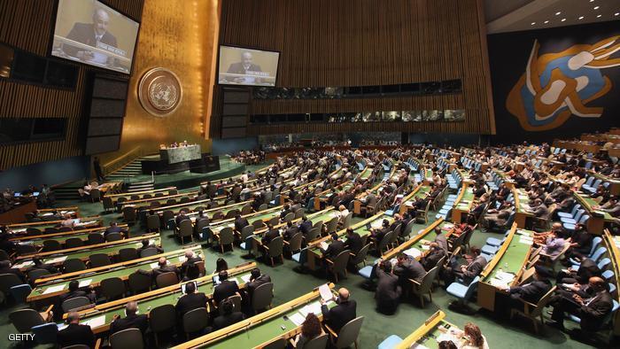 الجمعية العامة تصادق على قرار لوقف إطلاق النار في سورية