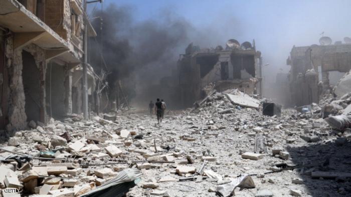 58 قتيلاً بينهم 14 امرأة حصيلة ضحايا قصف الطيران الروسي الأسدي يوم أمس الأحد
