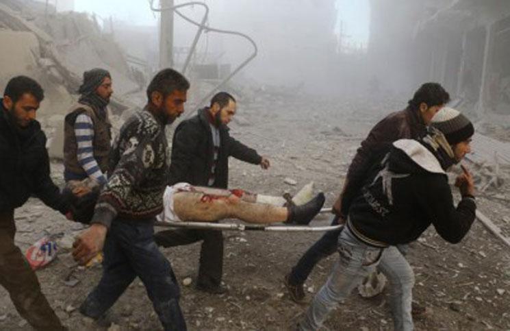 61 شهيداً -نحسبهم عند الله- حصيلة ضحايا يوم أمس الاثنين في سوريا