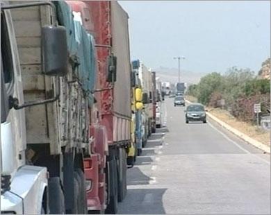 سوريا تمنع مرور شاحنات تركية