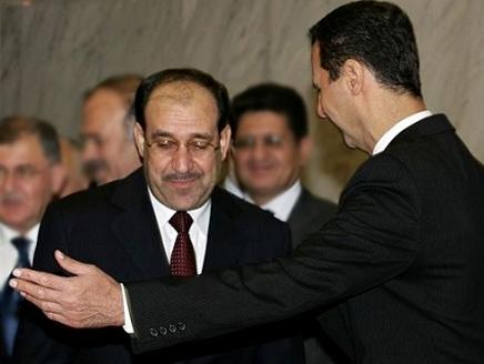 المالكي يحذر من حرب أهلية بسوريا