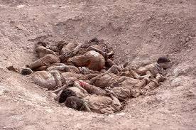 انجراف التربة يكشف مقبرة جماعية لـ 381 من أهالي (بابا عمرو) بحمص