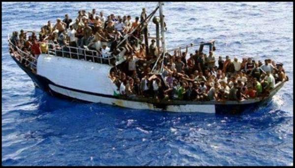 الاضطهاد الأوروبي للاجئ القوارب المسلم