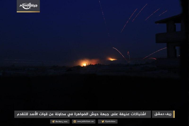 نشرة أخبار سوريا- 28 قتيلاً للنظام في هجوم فاشل على الغوطة الشرقية، والجولاني قائداً لـ
