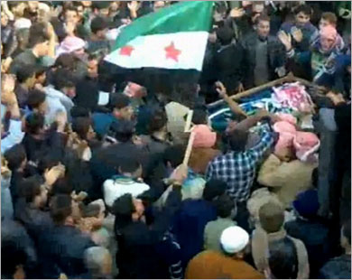33 قتيلاً بينهم جنود ومنشقون بسوريا
