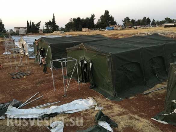 روسيا تقيم قاعدة عسكرية جديدة شمال حماة