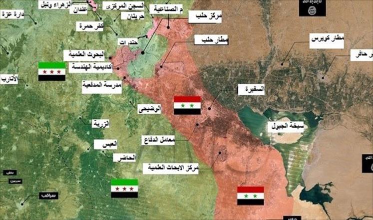 توزيع القوى بعد 40 شهراً من معركة حلب