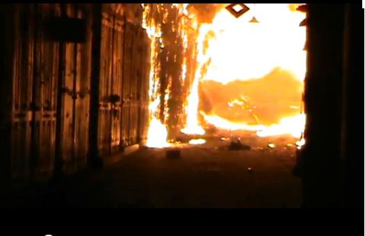 تقرير العربية: المتنبي كان يتبضع من سوق حلب الذي اشتعل بالنار