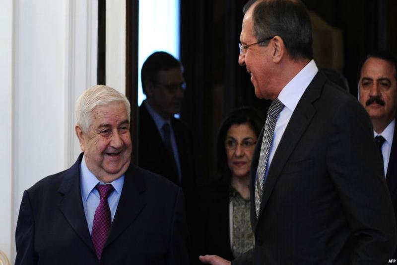 السياسة الروسية تجاه سورية منذ أحداث الثورة