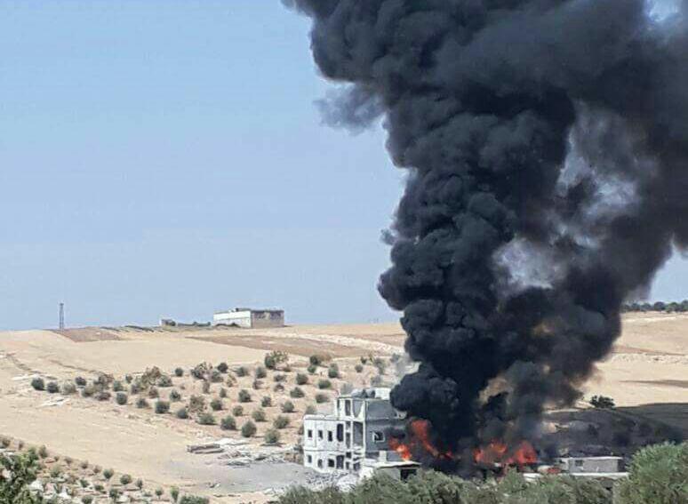 قصف عنيف جداً يستهدف عدة مشافٍ بريف إدلب