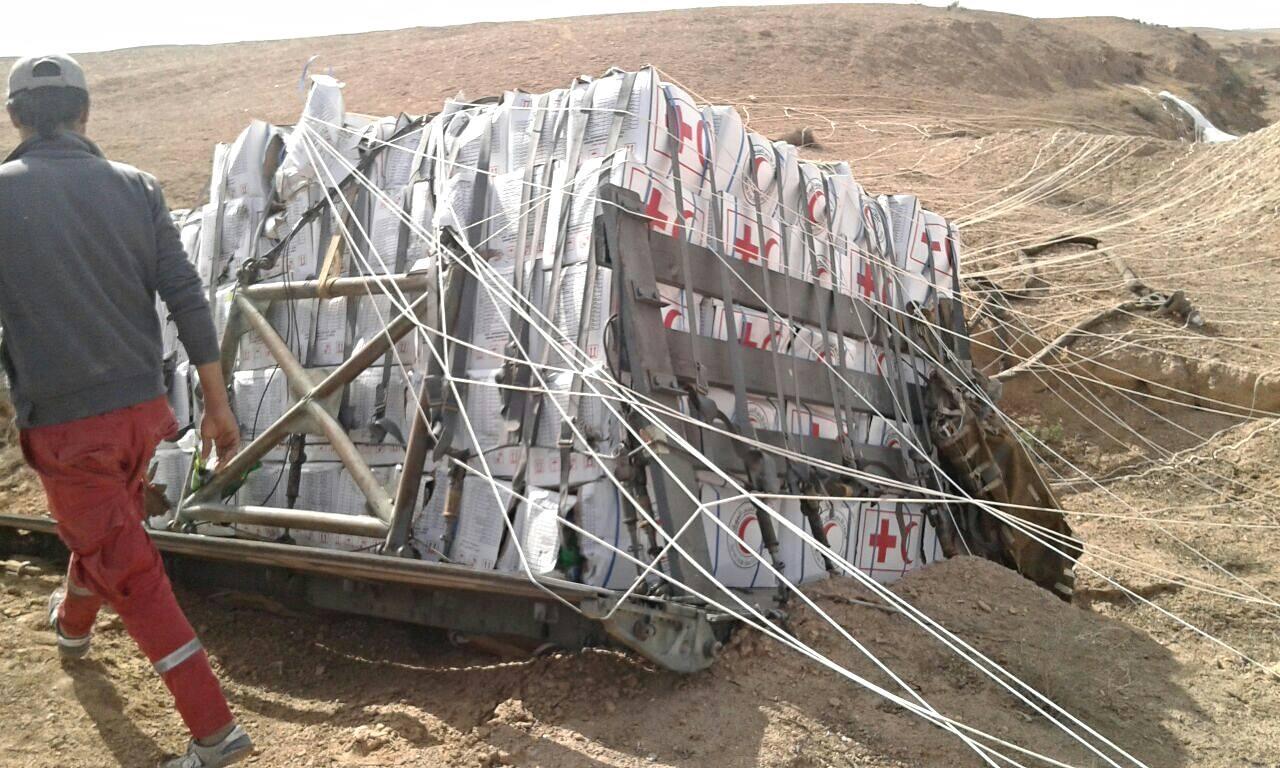 برنامج الغذاء العالمي يعلن إيقاف المساعدات الجوية لأحياء دير الزور بسبب المعارك