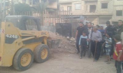 بعد خمسة أشهر من الحصار .. النظام يدفع معضمية الشام لتوقيع مصالحة