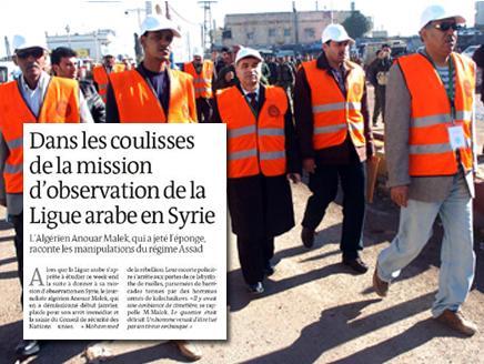مراقب سابق بالبعثة العربية: الدابي يدعم نظام الأسد
