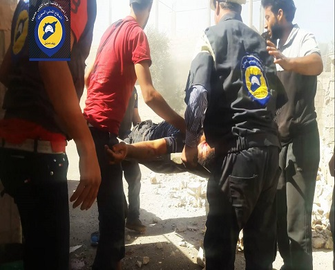 124 قتيلاً حصيلة ضحايا قصف الطيران الروسي الأسدي يوم أمس الاثنين