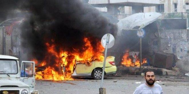 قتلى وجرحى في انفجار سيارة مفخخة في مدينة اللاذقية