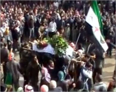 22 قتيلاً برصاص الأمن السوري