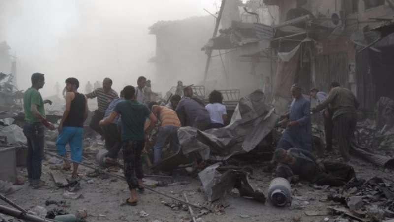 المعارضة السورية توافق على إخلاء مخيم