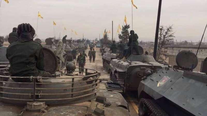 أمريكا: نحقق في وجود مدرعات أمريكية في استعراض حزب الله في سوريا!