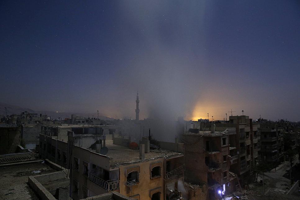 نشرة أخبار سوريا- قوات النظام تدخل مطار الجراح العسكري بعد انسحاب التنظيم منه، ودعوات إلى تشكيل غرفة عمليات فورية لإنقاذ أحياء شرق العاصمة -(13-5-2017)
