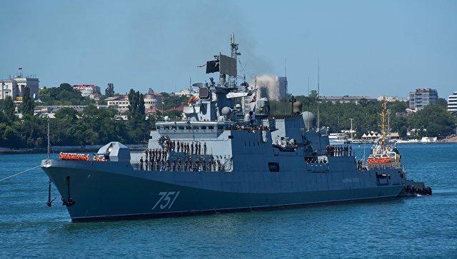 روسيا تستخدم سورية كساحة تدريب، وترسل طراداً صاروخياً إلى السواحل السورية