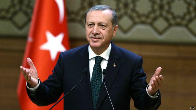 أردوغان: وقف إطلاق النار في سوريا فرصة تاريخية لإنهاء الحرب