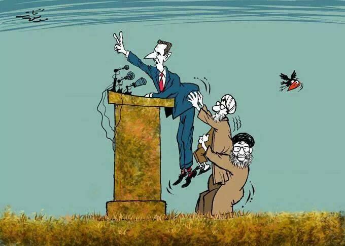 إيران وسورية مولدتا الإرهاب
